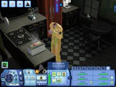 The headless Grim Reaper is off to work. Uploaded the first video for the Grim Reaper Challenge in about 20 minutes #TheSims3