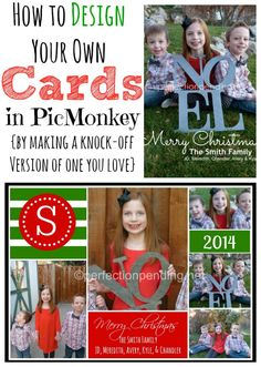 Our top ten 5x7 stationery card by petite lemon shutterfly dyi how to create your own christmas card in picmonkey reheart Choice Image