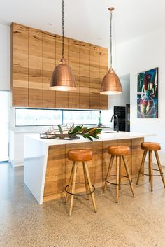 Loughlin Furniture : home Timber Kitchen, New Homes, Ceiling Lights, Interior, Table, Inspiration, Furniture, Home Decor, Biblical Inspiration