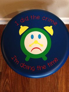 Children's Time Out Chair by RandomActOfCrafts on Etsy, $20.00