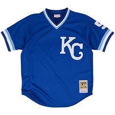 George Brett Kansas City Royals Sewn Jerseys