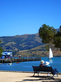 Quiet moments of love, Akaroa NZ  ...took this one :)