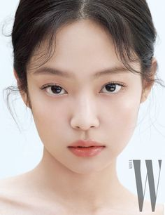 Blackpink Jennie - W Korea Magazine (February 2020 Issue). Kim Jennie, Makeup Inspo, Makeup Inspiration, W Korea, Kim Jisoo, Model Face, Blackpink Photos, Blackpink Fashion, Korean Makeup