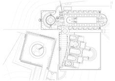 Supreme Court Building in Jerusalem,Plan