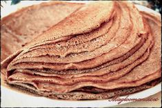 Pâte à galettes de blé noir (crêpes au sarrasin)