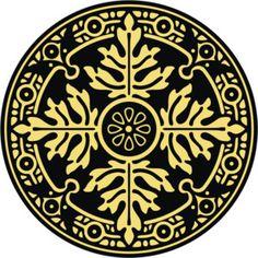 Round ornament patterns - Polyvore