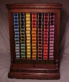 Victorian spool cabinet