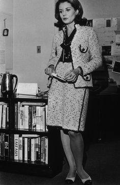 Barbara Walters In Chanel in 1973.