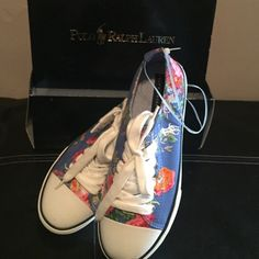 Ralph Lauren Vans New, didn't fit, I lost the receipt and couldn't exchange. Ralph Lauren Shoes Sneakers