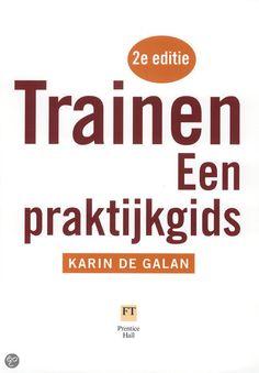 Trainen, een praktijkgids: Dit boek bewijst dat trainen een vak is dat je kunt leren. In deze tweede editie van Trainen lees je hoe je een training kunt opbouwen, met welke werkvormen je de groep laat leren en hoe je zoiets ongrijpbaars als het groepsproces kunt aanpakken. Het maakt bekende modellen zoals die van Kolb (leerstijlen) en Levine (groepsprocessen) bruikbaar  voor trainers door heldere uitleg en een schat aan praktijkvoorbeelden.