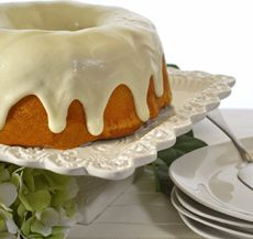 All-in-One Cake and Frosting A cake and frosting all from one simple recipe.