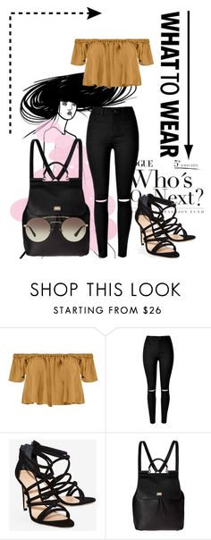 """""""Whaty to wear!"""" by rhiannonpsayer ❤ liked on Polyvore featuring Boohoo, Schutz, Dolce&Gabbana, Prada and teenage"""