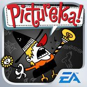 Fun app based on the board game, Pictureka.  This app is a bargain for $2 - great for categorization skills.