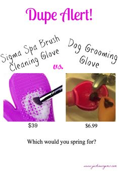 Sigma Spa Cleaning Glove Dupe