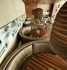 Prasino Restaurant designed by Simeone Deary Design Group