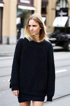 Oversize tröjan