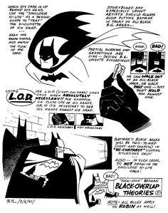 Bruce timm batman animation guide