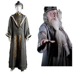 Harry Potter Principal Magician Albus Dumbledore Cosplay Kostüm Karneval