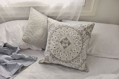 Comfy cushions. Every bedroom needs them.
