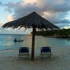 Romantic sunset spot at @verandahresort 's main beach. #DreamAntigua @antiguaandbarbuda #beach