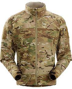 3b9ea85cef0 ARC'TERYX LEAF COMBAT JACKET MULTICAM Durable, breathable softshell jacket  designed for maximum movement