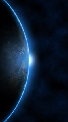 Pin by Kunal Patandin on Earth from space in 2019 Iphone Wallpaper Earth, Planets Wallpaper, Phone Screen Wallpaper, Dark Wallpaper, Galaxy Wallpaper, Wallpaper Backgrounds, Space Planets, Earth From Space, Jolie Photo