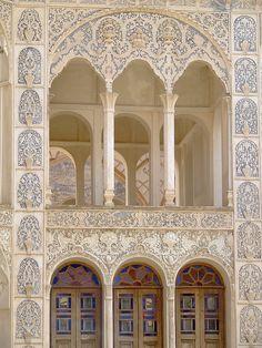 "Khaneh Tabatabaei-ha (""The Tabatabaeis' House""), Kashan, Isfahan prov, Iran"