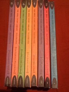 The Bible Story Library Illustrated 8 Volumes