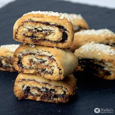 Kleicha - Date Cookies(كليجة) Last year I made a healthier version of my favourite cookies - Kleicha (كليجة) which areIraqi date cookies that are traditionally served on Eid (A religious holiday to celebrate the end…