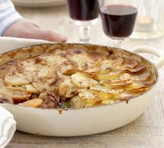 Lancashire hotpot - his famous lamb stew topped with sliced potatoes should be on the menu at every British pub (and not only !)
