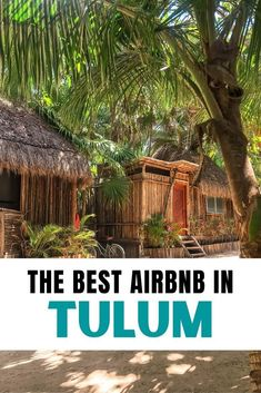 Where to stay in Mexico? Let me introduce you to the dreamiest Tulum Airbnb - for honeymooners, digital nomads & wanderers. Tree houses, jungle villas, beach condos, and chic rooms in Tulum town as well as Tulum Playa. As well as tips on how to book your Airbnb in Tulum. #mexico #tulumAirbnb in Tulum | Tulum Mexico Airbnb | Best Airbnb in Tulum | Rental houses in Tulum | Where to stay in Tulum | Tulum Accommodation | Where to stay on Tulum beach Tulum Mexico, Mexico Trips, Mexico Travel, Restaurant On The Beach, Tulum Beach, Beach Condo, Baja California, Cozumel, Places To See