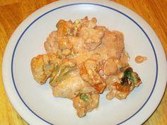 low carb cheesy italian chicken bake
