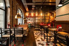 Peppes Pizza restaurant by RISS INTERIORARKITEKTER Oslo Norway Peppes Pizza restaurant by RISS INTERIØRARKITEKTER, Oslo   Norway