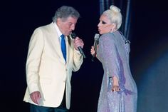 Tony Bennett and Lady Gaga performing in paradise at Atlantis LIVE, June 13, 2015!