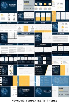Flags of countries on the world map keynote template pinterest flags of countries on the world map keynote template pinterest keynote and template gumiabroncs Image collections