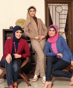 Hijab Styles and Pants Women 2012