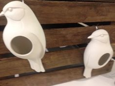 More for the dad who appreciates wildlife..... These amazing birdfeeders are made of tough ceramic by Green Man Ceramics.