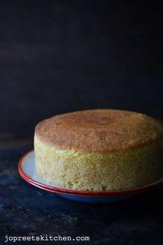 Sweet Lime & Coconut Cake (Egg-less & Butter-less) / Mosambi Cake can use Nondairy Yogurt also Eggless Lemon Cake, Eggless Desserts, Eggless Recipes, Eggless Baking, Vegan Desserts, Delicious Desserts, Dessert Recipes, Cake Recipes, Vegan Recipes