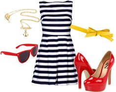 """Nautical Wear"" by alexpaige14 on Polyvore"