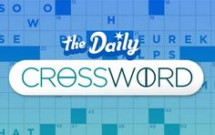 The Sun Sentinel Games: Daily Crossword