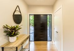Re-clad, Interior Renovation and Third Level Extension in Mairangi Bay. Call us for the best renovations & service! Entry Hallway, Staircases, Auckland, Hallways, Third, Sunrise, Construction, Dreams, Number
