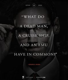 Edward Nygma (The Riddler)