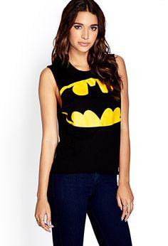 Cool Batman Muscle Tee   FOREVER 21 - 2000127434  #F21CRUSH