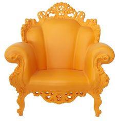 super fun furniture for the garden/patio! Linvin Plastic Louis XV-Style Furniture