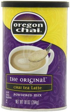 Oregon Chai Original Chai Tea Latte Powdered Mix, 8 Count Envelopes per Box, oz each (Pack of Powdered Spiced Black Tea Latte Mix For Home Use, Café, Food Service Oregon Chai, Types Of Tea, Tea Latte, Drinking Tea, Healthy Drinks, Gourmet Recipes, Herbalism, Spices, The Originals