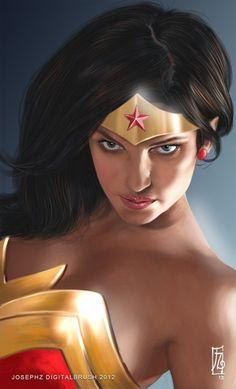 Wonderwoman by Joseph Z
