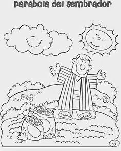 ME ABURRE LA RELIGIÓN: PARÁBOLA DEL SEMBRADOR Godly Play, Church Nursery, Kids Class, Snoopy, Fictional Characters, Dani, Ideas Para, Kids Ministry, Activities