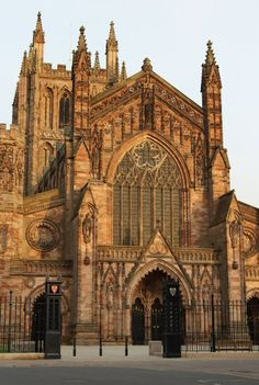 Hereford Cathedral, Herefordshire, England, dates from 1079 …