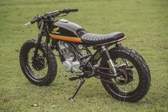 Honda TMX 150 Supremo Brat Tracker by Revolt Cycles Honda TMX 150 Supremo Brat Tracker by Revolt Cycles Honda TMX 150 Supremo Brat Tracker by Revolt Cycles List the 2019 Honda Motorcycle Models, see all. Cg 125 Cafe Racer, Suzuki Cafe Racer, Triumph Bikes, Honda Bikes, Honda Scrambler, Cafe Racer Motorcycle, Vintage Bikes, Vintage Motorcycles, Cb 300