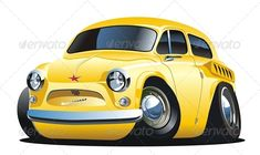 Cartoon Retro Car  #GraphicRiver         Available AI-10 and EPS -10 vector formats separated by groups and layers for easy edit. More cartoon cars and transportation illustrations see in my portfolio.  	 Also you can check at my Collections:  Vector Cartoon Cars  Vector Cartoon Trucks  Detailed Vector Cars modern and retro  Detailed Vector Trucks Vans Tractors and Pickups  Detailed Vector realistic and cartoon styled Buses  Vector aircrafts, airplanes, retro, modern, blueprints, silhouettes…